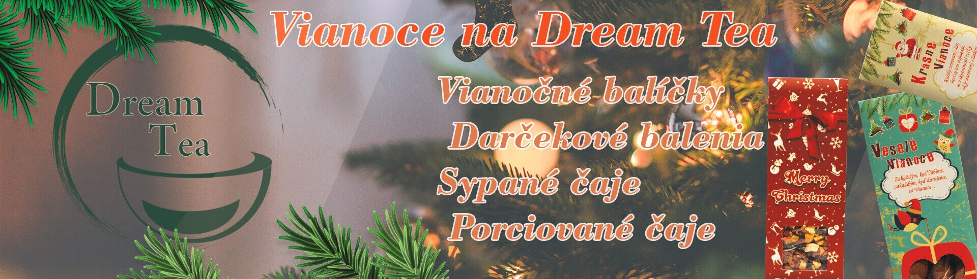 Vianoce na Dream Tea