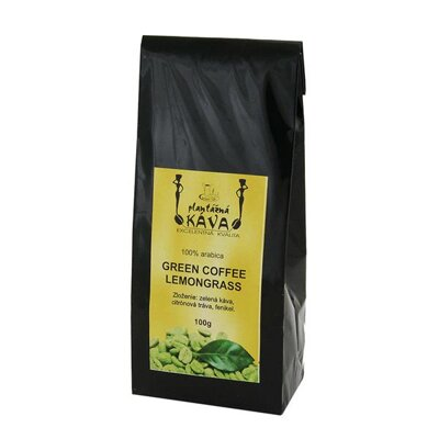 Káva Green Coffee Lemongrass
